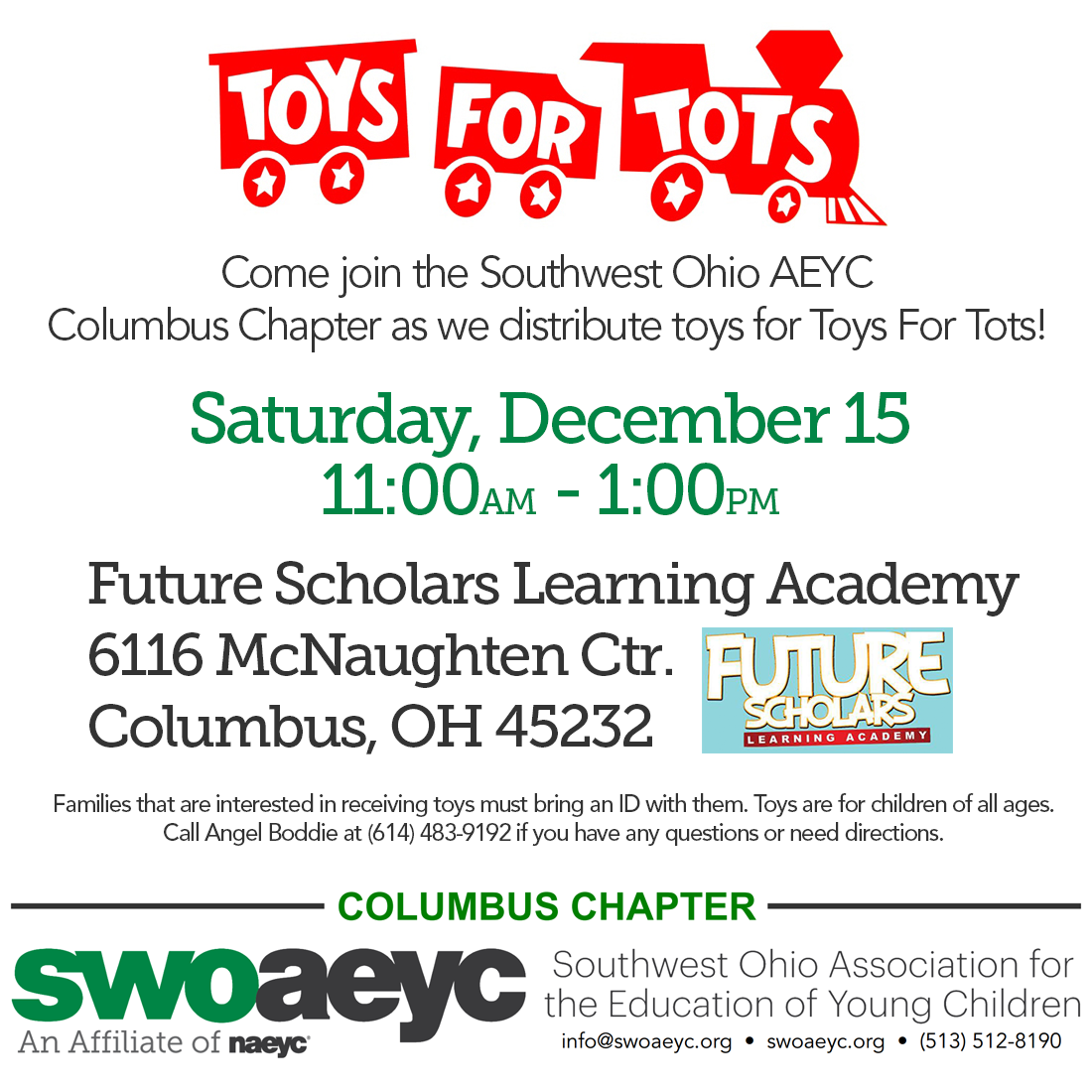 Columbus Toys for Tots