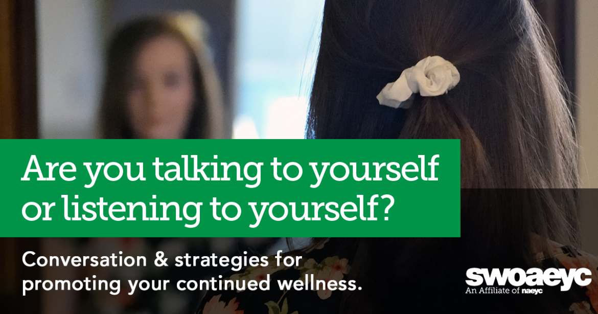 Are you talking to yourself or listening to yourself?